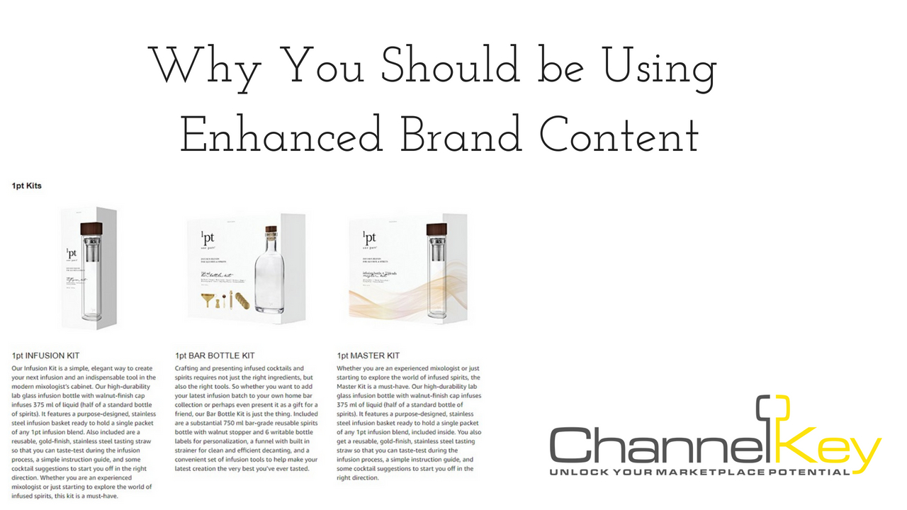 Why You Should be Using Enhanced Brand Content