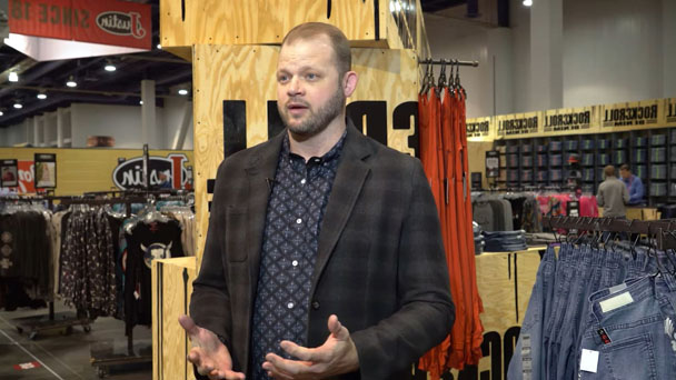 Brandon Van Dyck, Head of Marketing for Westmoor Manufacturing, addressing the camera