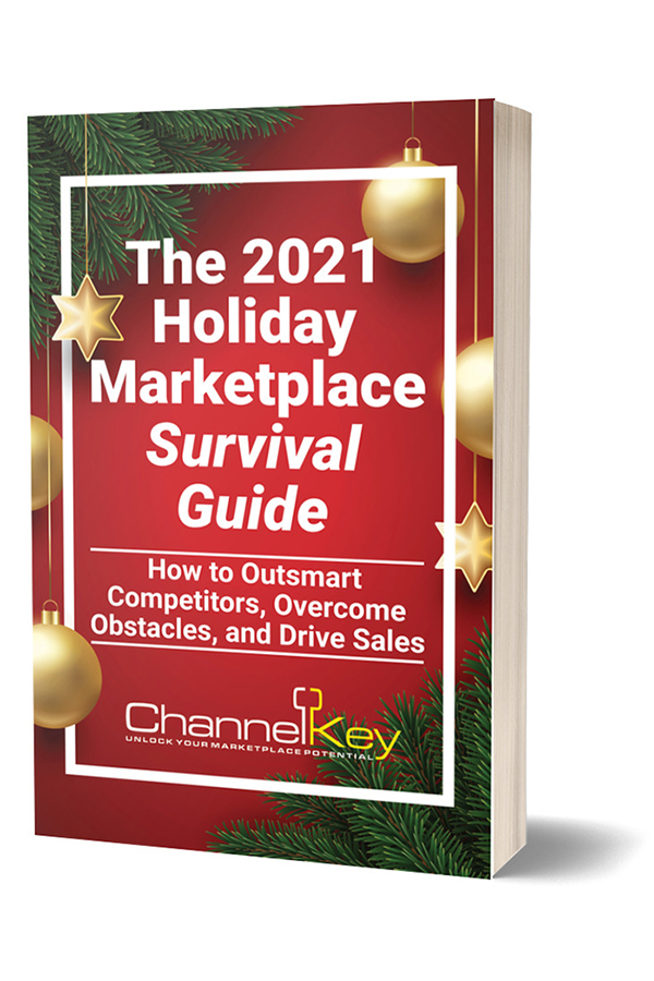 The 2021 Marketplace Holiday Survival Guide ebook cover.